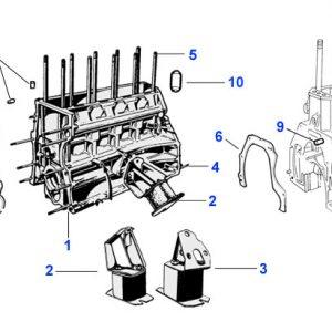 ENGINE BLOCK MOUNTS