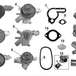 WATER PUMPS/THERMOSTATS