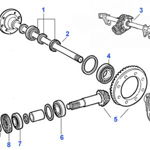 WHEEL BEARING/DIFFERENTIAL