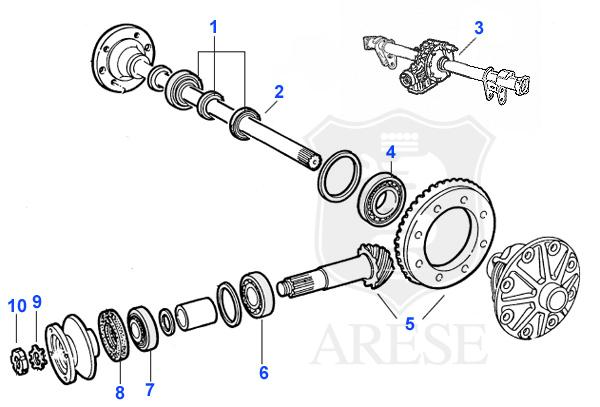 wheel bearing  differential archives