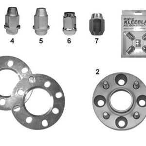 WHEEL SPACERS/SHEEL NUTS