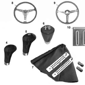 SHIFT KNOBS/STEERING WHEELS