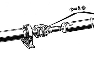 GEARBOX, PROPELLORSHAFT, DIFFERENTIAL