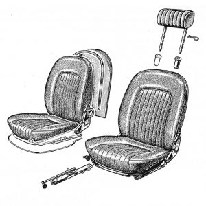 INTERIOR, TRUNK AND ENGINE COMPARTIMENT
